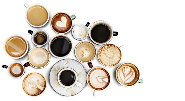 cafeïne koffiesoorten